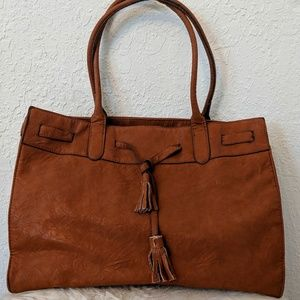 Brown Carry All Bag